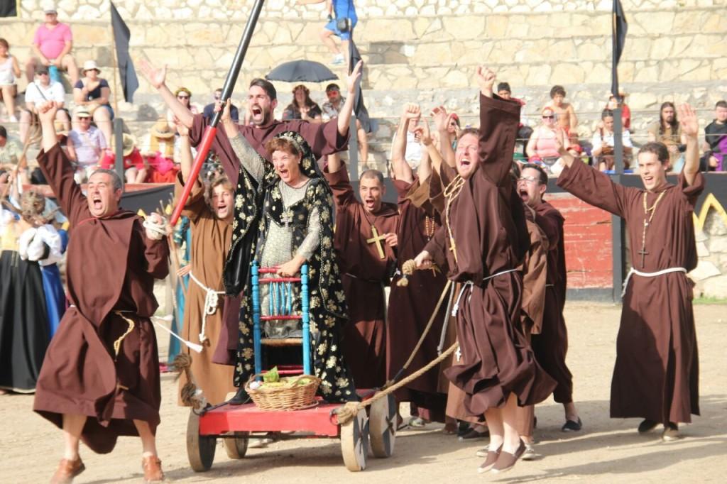 festival medieval - torneo frailes