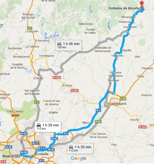 mapa madrid-alcorlo