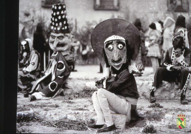festival medieval antiguo botargas
